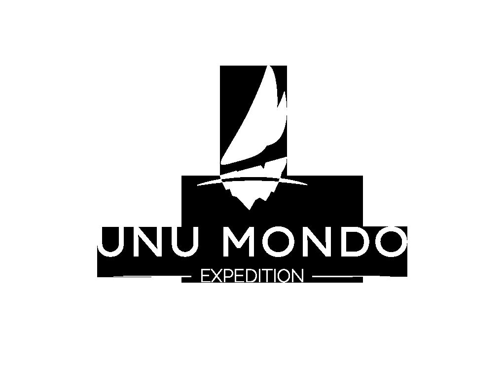 Unu Mondo logo white